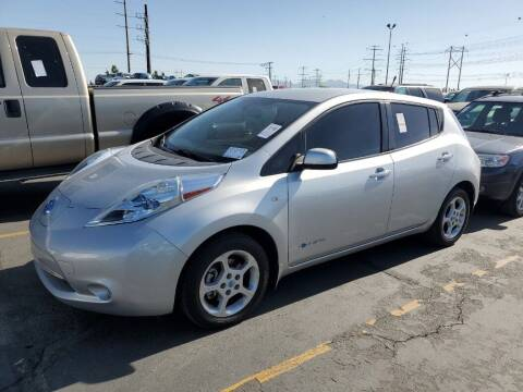 2012 Nissan LEAF for sale at A.I. Monroe Auto Sales in Bountiful UT
