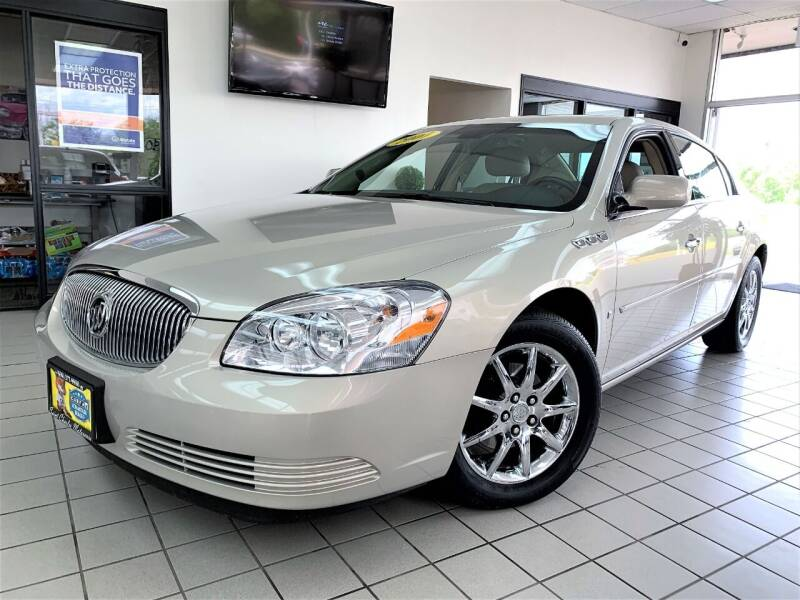 2007 Buick Lucerne for sale at SAINT CHARLES MOTORCARS in Saint Charles IL