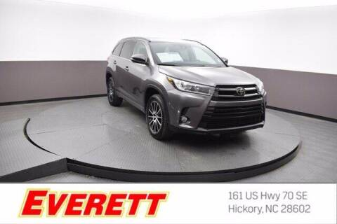 2018 Toyota Highlander for sale at Everett Chevrolet Buick GMC in Hickory NC