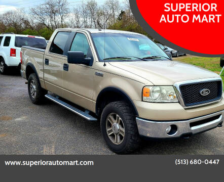 2007 Ford F-150 for sale at SUPERIOR AUTO MART in Amelia OH