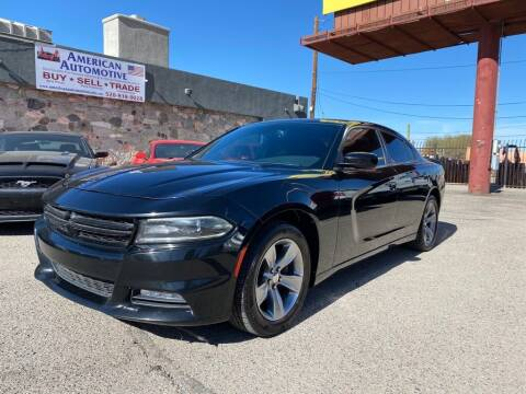 2016 Dodge Charger for sale at American Automotive , LLC in Tucson AZ