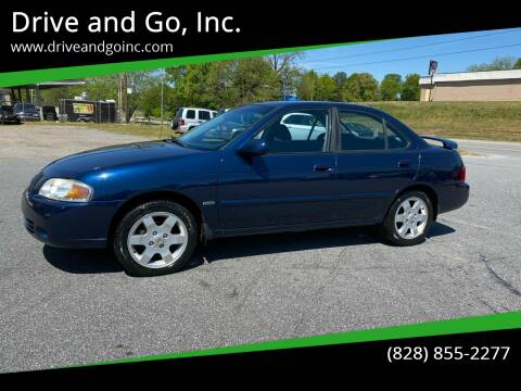 2006 Nissan Sentra for sale at Drive and Go, Inc. in Hickory NC