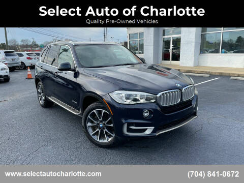 2015 BMW X5 for sale at Select Auto of Charlotte in Matthews NC
