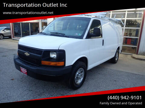 2011 Chevrolet Express Cargo for sale at Transportation Outlet Inc in Eastlake OH