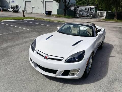 2008 Saturn SKY for sale at Best Price Car Dealer in Hallandale Beach FL