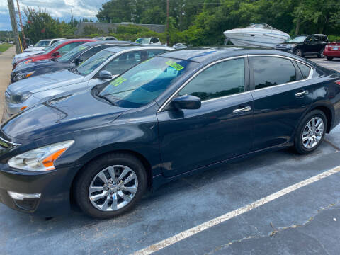 2015 Nissan Altima for sale at TOP OF THE LINE AUTO SALES in Fayetteville NC