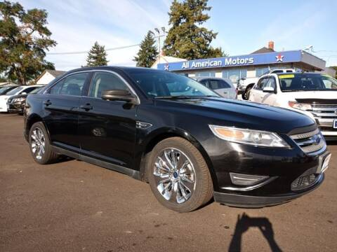2012 Ford Taurus for sale at All American Motors in Tacoma WA