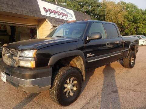 2004 Chevrolet Silverado 2500HD for sale at Gordon Auto Sales LLC in Sioux City IA