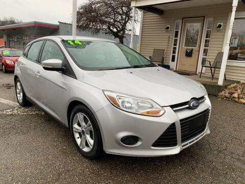 2014 Ford Focus for sale at G & G Auto Sales in Steubenville OH