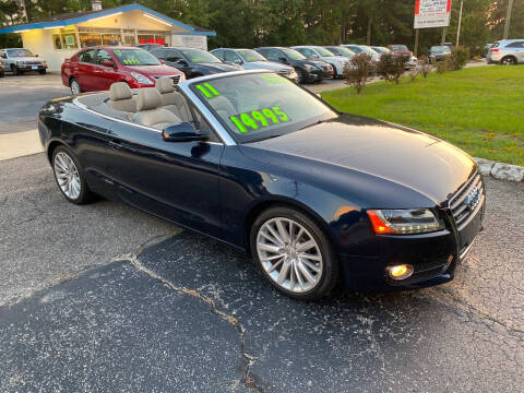 2011 Audi A5 for sale at TOP OF THE LINE AUTO SALES in Fayetteville NC