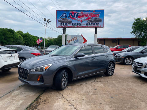 2018 Hyundai Elantra GT for sale at ANF AUTO FINANCE in Houston TX