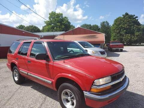 2000 Chevrolet Blazer for sale at VAUGHN'S USED CARS in Guin AL