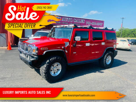 2004 HUMMER H2 for sale at LUXURY IMPORTS AUTO SALES INC in North Branch MN