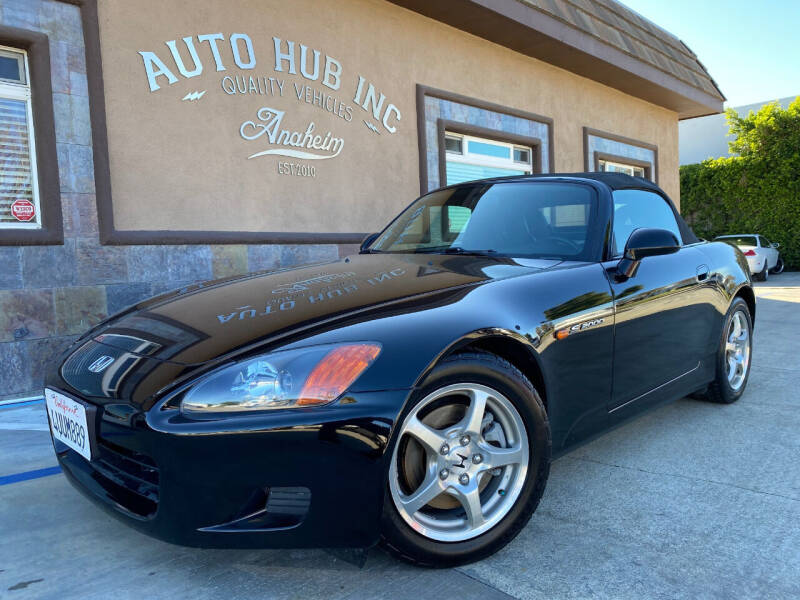 2002 Honda S2000 for sale at Auto Hub, Inc. in Anaheim CA