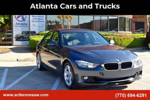 2014 BMW 3 Series for sale at Atlanta Cars and Trucks in Kennesaw GA