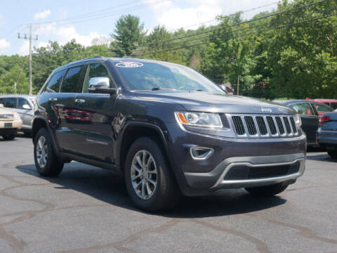 2015 Jeep Grand Cherokee for sale at Canton Auto Exchange in Canton CT