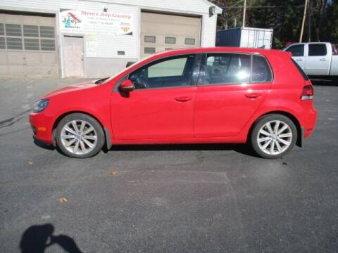 2013 Volkswagen Golf for sale at Route 4 Motors INC in Epsom NH