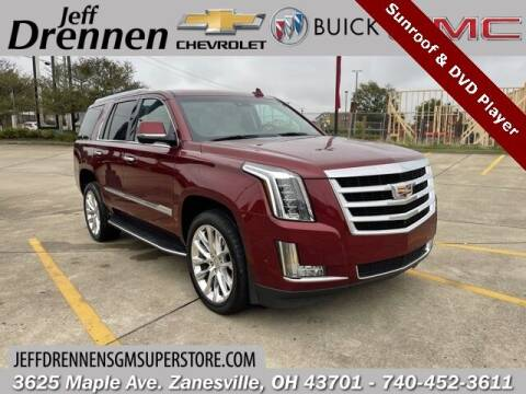 2019 Cadillac Escalade for sale at Jeff Drennen GM Superstore in Zanesville OH