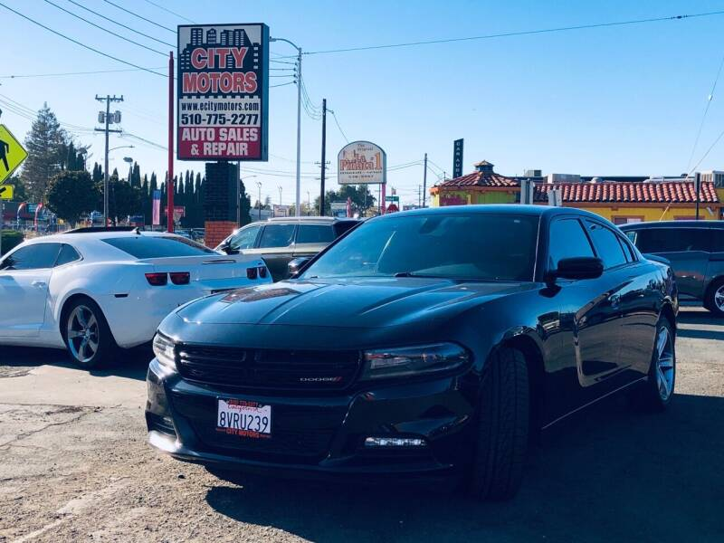2015 Dodge Charger for sale at City Motors in Hayward CA
