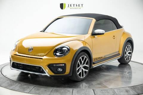 2017 Volkswagen Beetle Convertible for sale at Jetset Automotive in Cedar Rapids IA