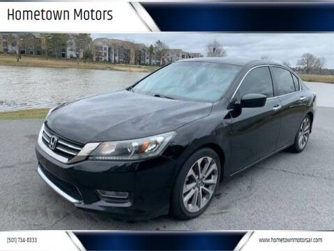 2013 Honda Accord for sale at Hometown Motors in Maumelle AR
