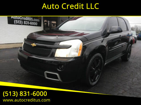 2008 Chevrolet Equinox for sale at Auto Credit LLC in Milford OH
