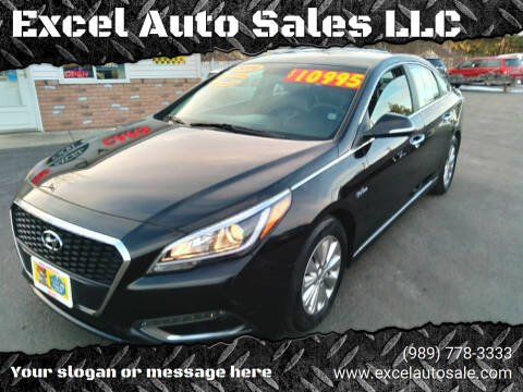 2016 Hyundai Sonata Hybrid for sale at Excel Auto Sales LLC in Kawkawlin MI