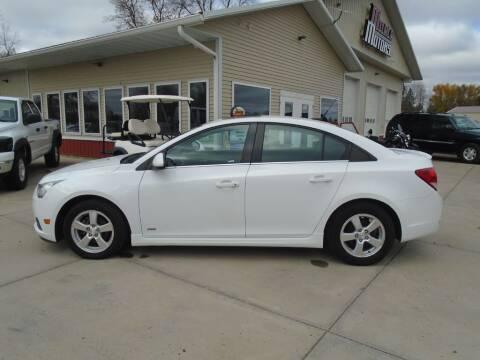 2014 Chevrolet Cruze for sale at Milaca Motors in Milaca MN