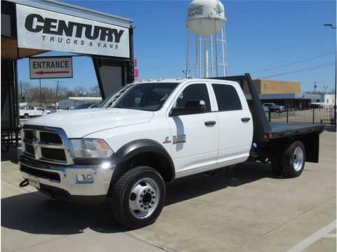 2018 RAM Ram Chassis 5500 for sale at CENTURY TRUCKS & VANS in Grand Prairie TX