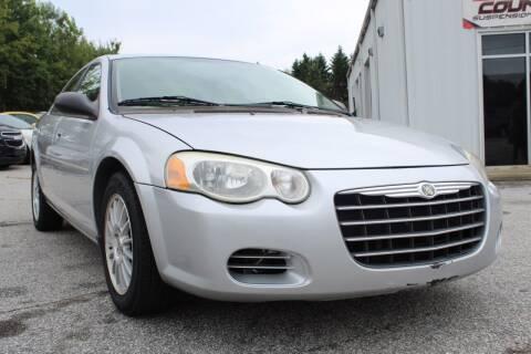 2005 Chrysler Sebring for sale at UpCountry Motors in Taylors SC