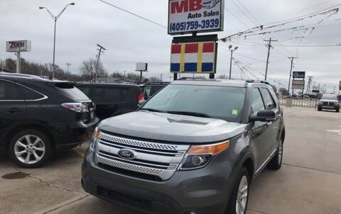 2011 Ford Explorer for sale at MB Auto Sales in Oklahoma City OK