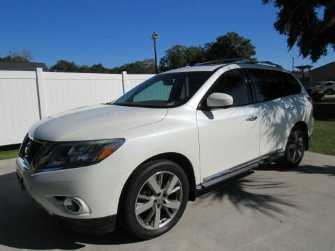 2015 Nissan Pathfinder for sale at D & R Auto Brokers in Ridgeland SC