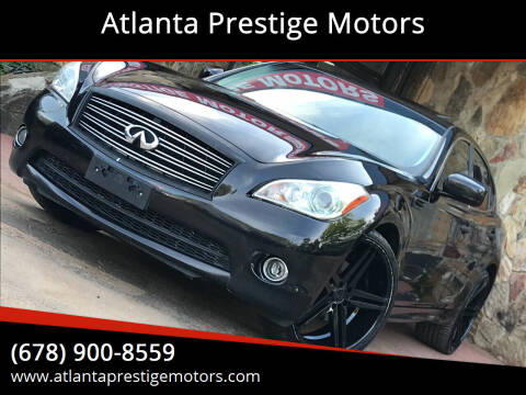 2012 Infiniti M37 for sale at Atlanta Prestige Motors in Decatur GA