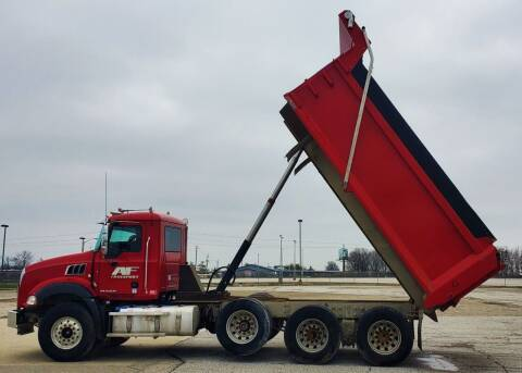 2016 Mack Granite GU813 for sale at A F SALES & SERVICE in Indianapolis IN