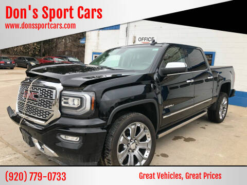 2016 GMC Sierra 1500 for sale at Don's Sport Cars in Hortonville WI