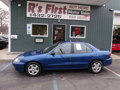2004 Chevrolet Cavalier for sale at R's First Motor Sales Inc in Cambridge OH