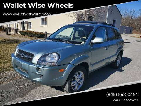 2006 Hyundai Tucson for sale at Wallet Wise Wheels in Montgomery NY
