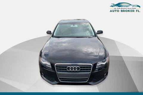 2012 Audi A4 for sale at INTERNATIONAL AUTO BROKERS INC in Hollywood FL