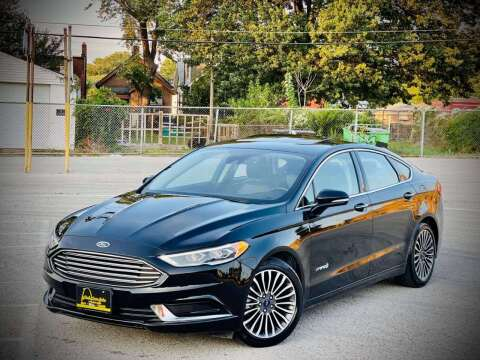 2018 Ford Fusion Hybrid for sale at ARCH AUTO SALES in Saint Louis MO