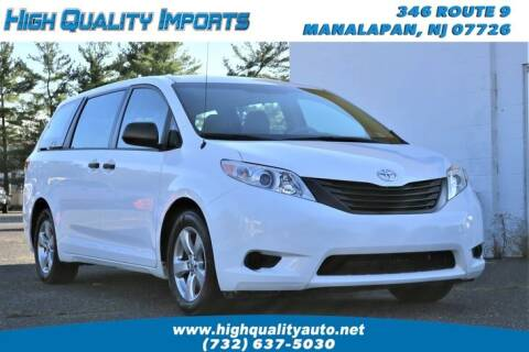 2013 Toyota Sienna for sale at High Quality Imports in Manalapan NJ