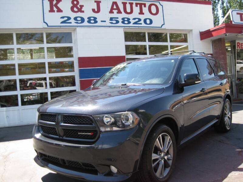 2013 Dodge Durango for sale at K & J Auto Rent 2 Own in Bountiful UT