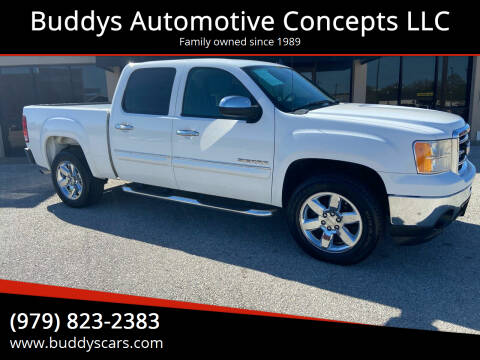 2012 GMC Sierra 1500 for sale at Buddys Automotive Concepts LLC in Bryan TX