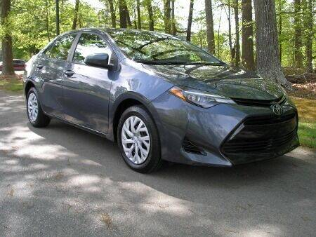 2017 Toyota Corolla for sale at RICH AUTOMOTIVE Inc in High Point NC