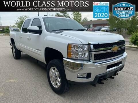 2013 Chevrolet Silverado 2500HD for sale at World Class Motors LLC in Noblesville IN