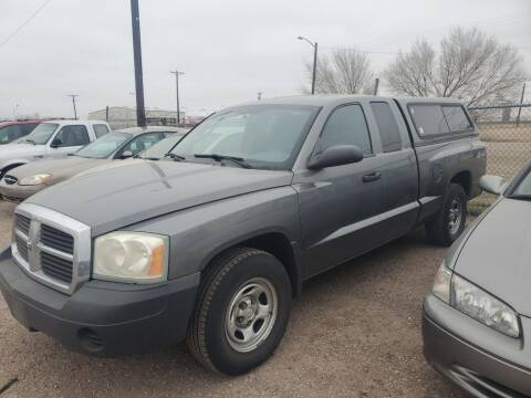 2005 Dodge Dakota for sale at PYRAMID MOTORS - Fountain Lot in Fountain CO