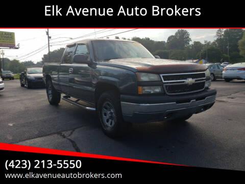 2007 Chevrolet Silverado 1500 Classic for sale at Elk Avenue Auto Brokers in Elizabethton TN