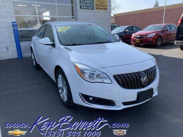 2014 Buick Regal for sale at KEN BARRETT CHEVROLET CADILLAC in Batavia NY