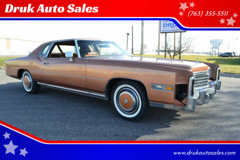1978 Cadillac Eldorado for sale at Druk Auto Sales in Ramsey MN