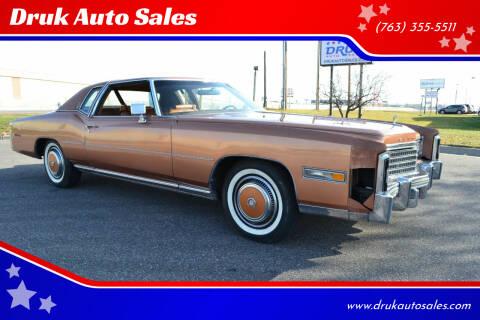 1978 Cadillac Eldorado for sale at Druk Auto Sales in Ramsey MN