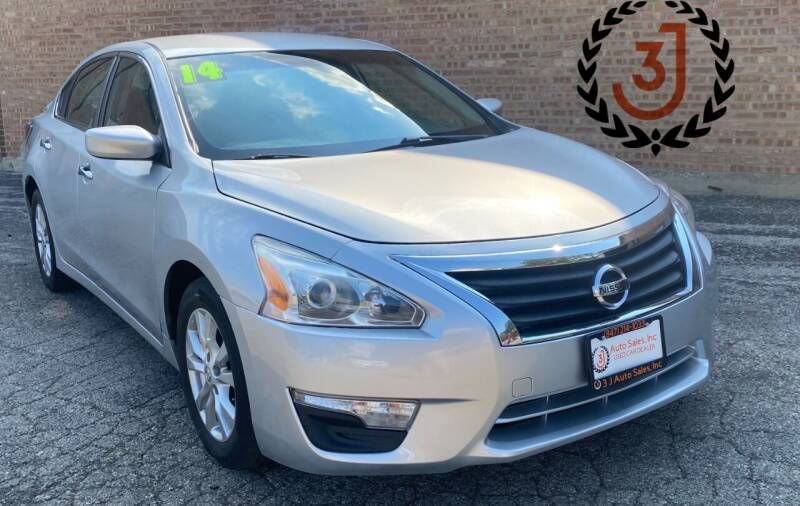 2014 Nissan Altima for sale at 3 J Auto Sales Inc in Arlington Heights IL